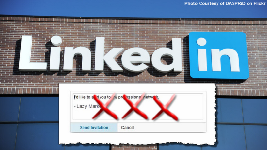 LinkedIn For Business - Default LinkedIn Invitation