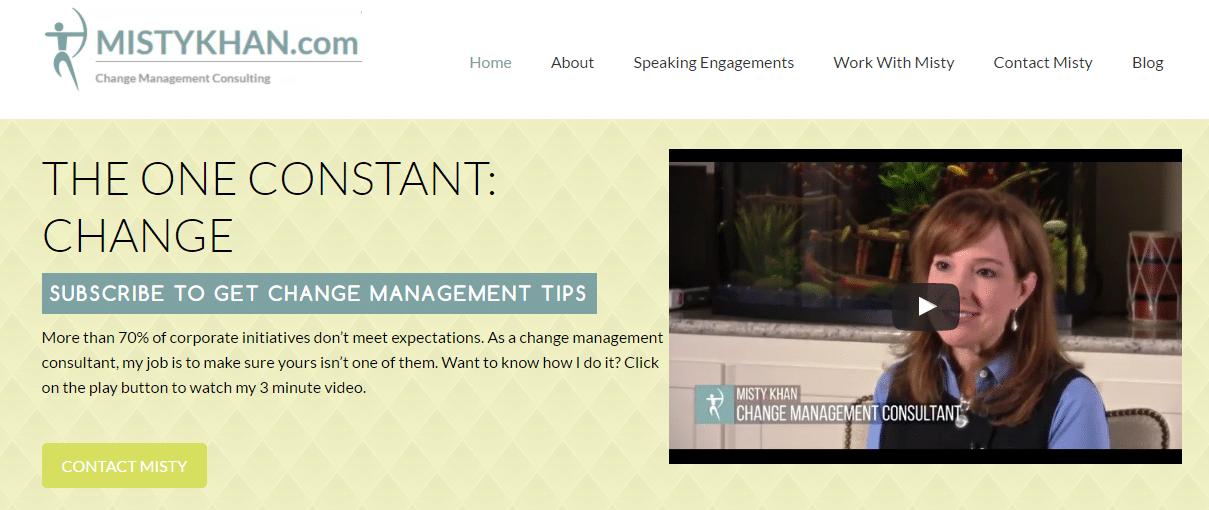 Misty Khan Website Intro Video
